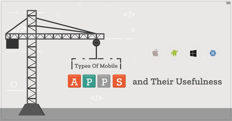 Types Of Mobile Apps And Their Usefulness