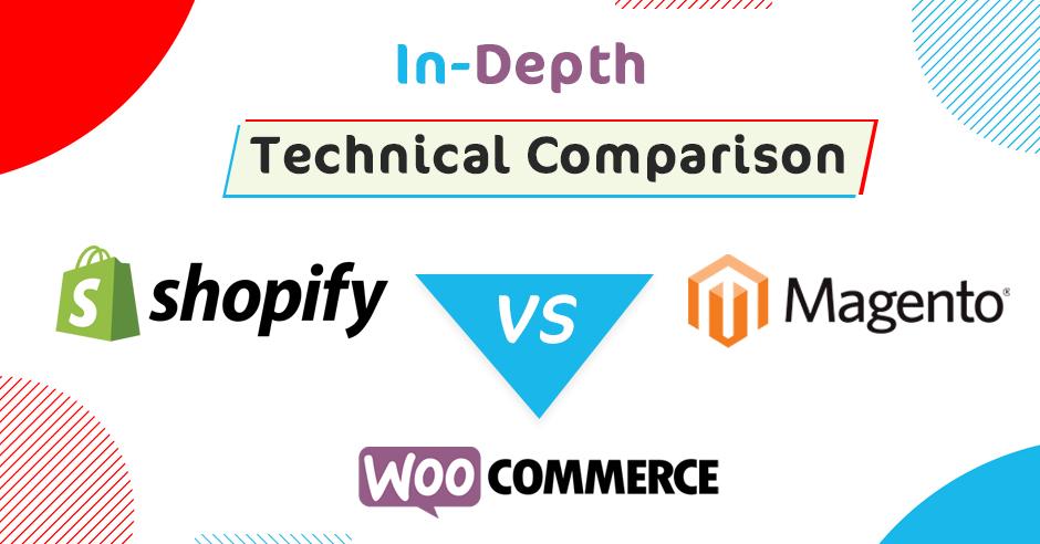 In-Depth Technical Comparison: Shopify vs. WooCommerce vs. Magento